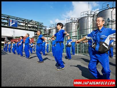 Radio Taiso, ginástica japonesa