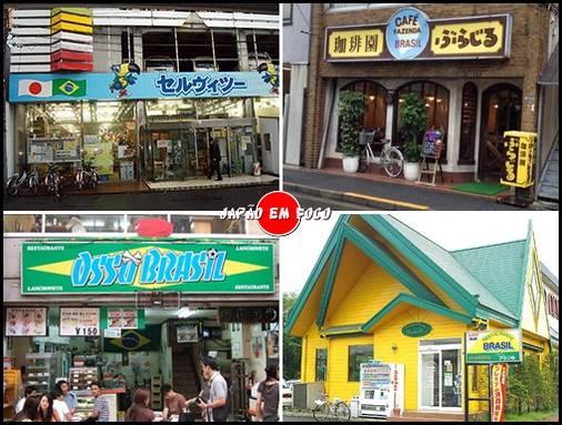 Restaurantes brasileiros Japão