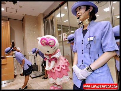 Bom atendimento no Japão