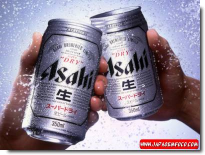 Cerveja japonesa Asahi
