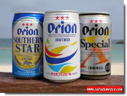 Cerveja japonesa Orion