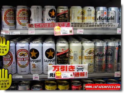 Cervejas Japonesas