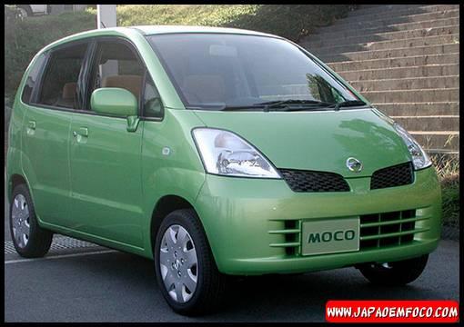 Carros japoneses com nomes estranhos - Nissan Moco (Meleca de nariz em espanhol)