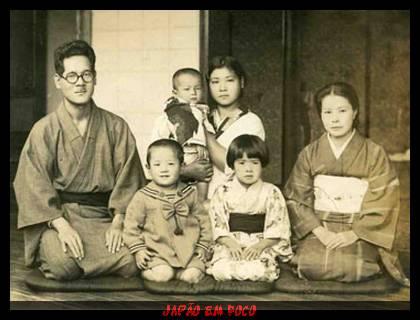 Família japonesa (Foto Antiga)