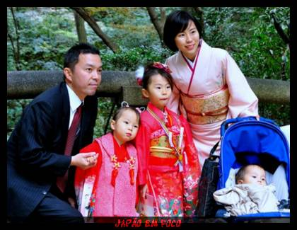 Família japonesa (Sociedade Moderna)