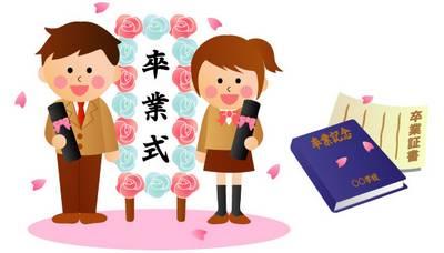 Graduação e Formatura escolar no Japão