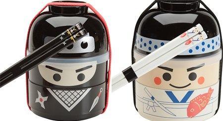 Kokeshi Bento box Ninja boy