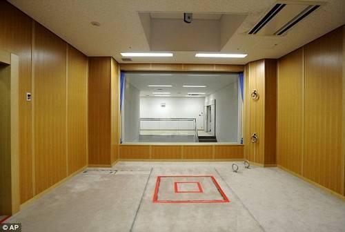 Câmara de execução no Japão