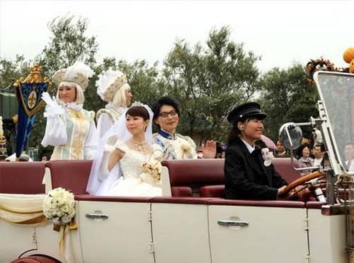Casamento temático na Disney