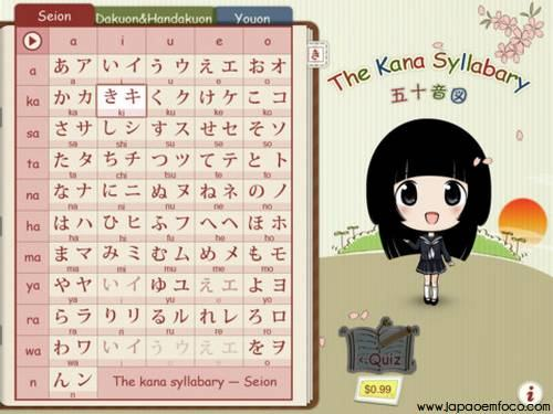 Kana Syllabary