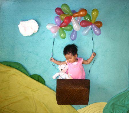Nezo Art (Fotos artísticas de bebês enquanto dormem)