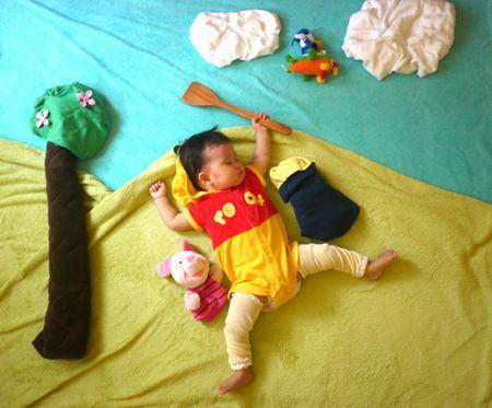 Nezo Art (Fotos artísticas de bebês enquanto dormem) 4