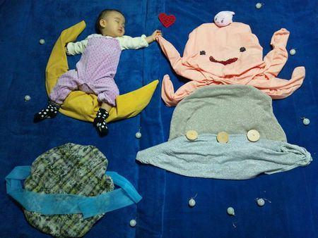 Nezo Art (Fotos artísticas de bebês enquanto dormem) 6