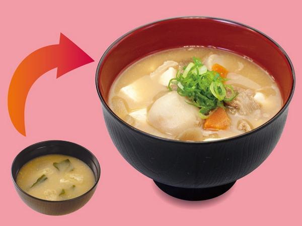 Receita de Tonjiru
