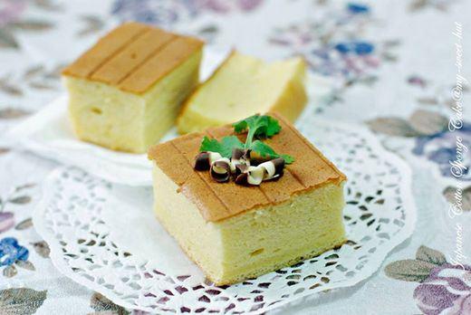 Receita de bolo castella