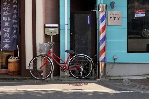 Barbearias no Japão