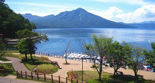 Lago Shikotsu Mt_Monbetsu, Hokkaido