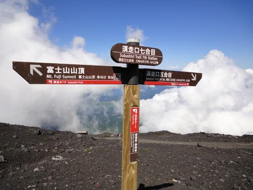 Monte Fuji topo