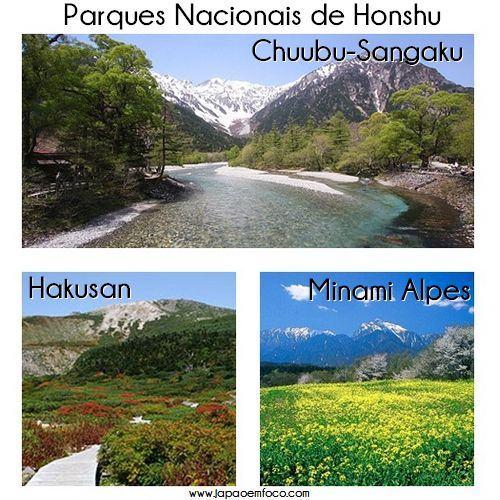 Parques Nacionais de Honshu