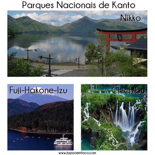 Parques Nacionais de Kanto