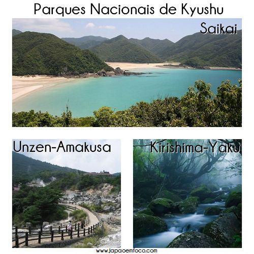 Parques Nacionais de Kyushu