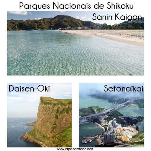 Parques Nacionais de Shikoku