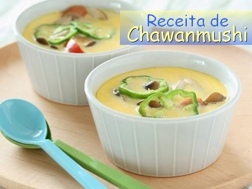 Receita de Chawan Mushi