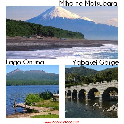 Top 3 melhores vistas Japão