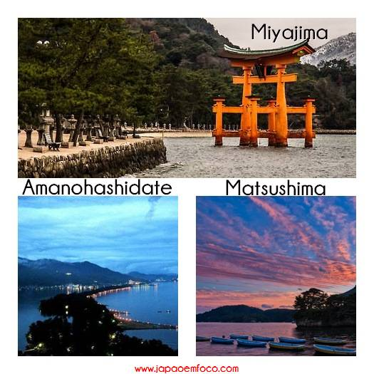 Top 3 vistas mais bonitas do Japão