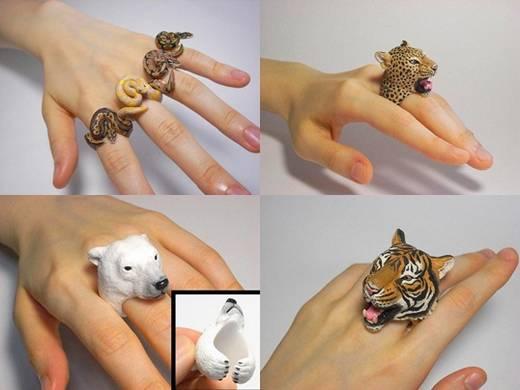 Anéis de Animais by Jiro Miura