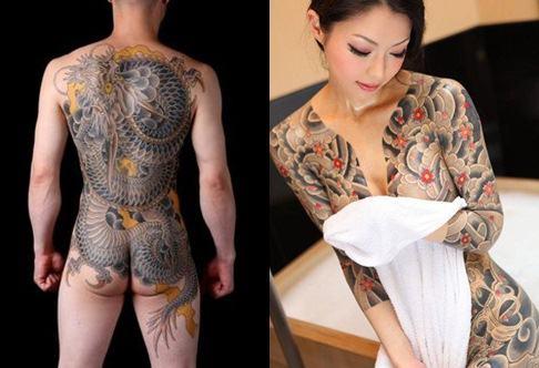 Tatuagem tradicional japonesa