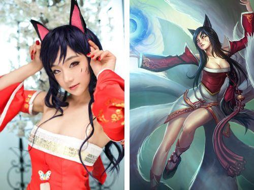Ahri (League of Legends) Cosplay
