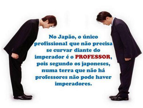 Japao professores