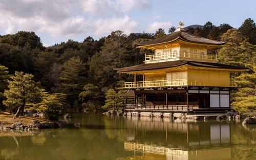 Kinkaku-ji (Templo do Pavilhão Dourado)