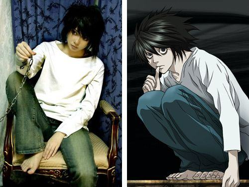 L (Death Note) cosplay