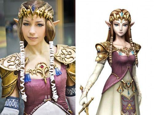 Princess Zelda (The Legend of Zelda - Twilight Princess) cosplay
