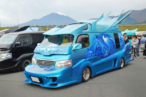 Vans japonesas muito loucas