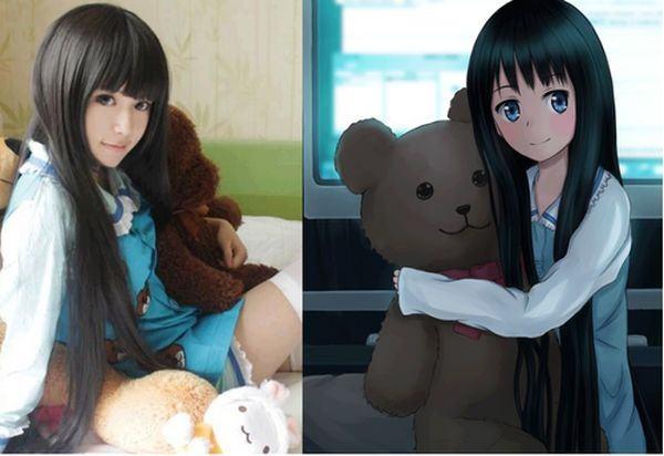 anime versus realidade