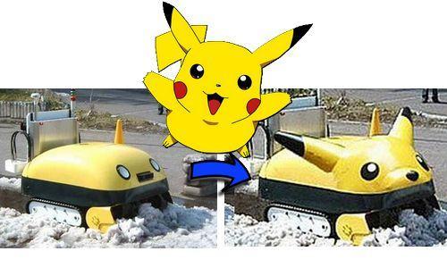 Yuki Taro Robo devorador de neve