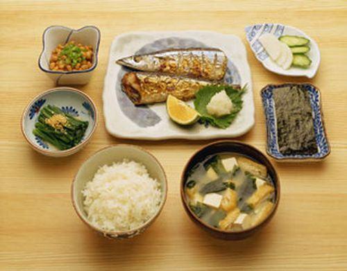 asa gohan café da manhã japonês