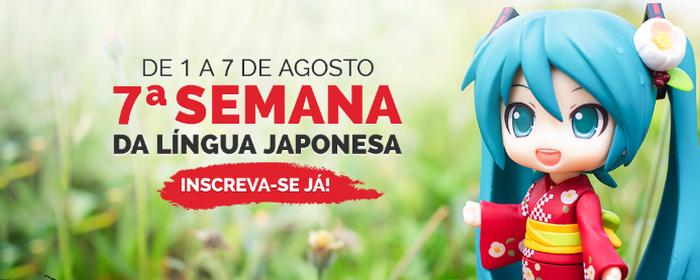 7° Semana da Língua Japonesa