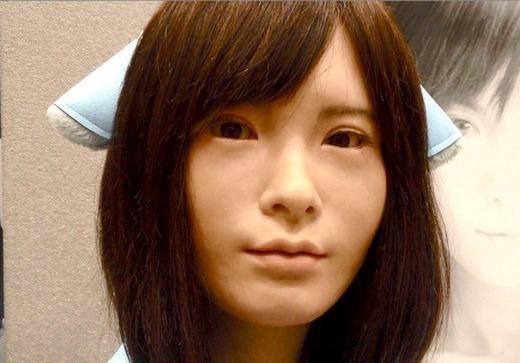 Asuna, a robô super realista do Japão 2