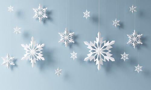 Kirigami Flocos de Neve