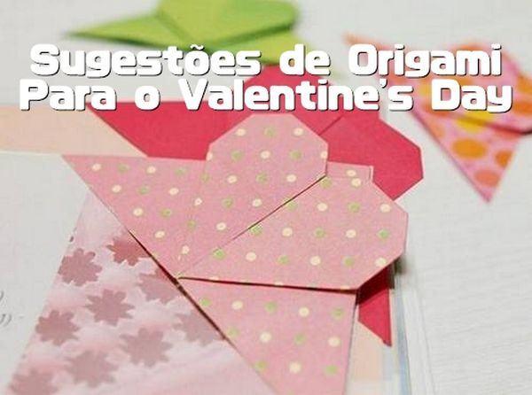 origami de coração