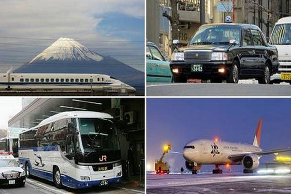 Meios de Transporte no Japão