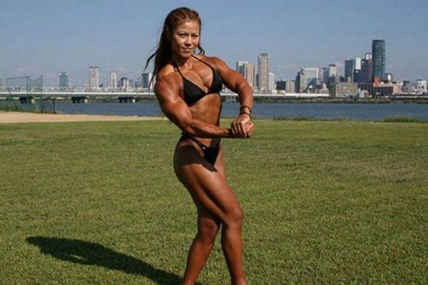 Tomoko Kanda, fisioculturista japonesa 2