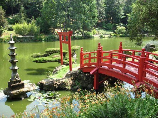 enfeites para jardim japones:decoração oriental para espaços abertos quando falamos de