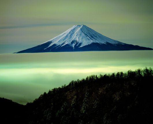 Monte Fuji através das lentes de Oyama Yukio 7