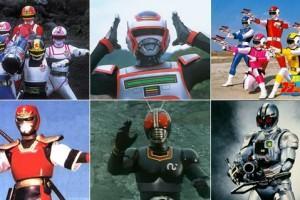 10 séries Tokusatsu que marcaram a minha infância