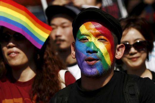 Parada Orgulho Gay em Tóquio